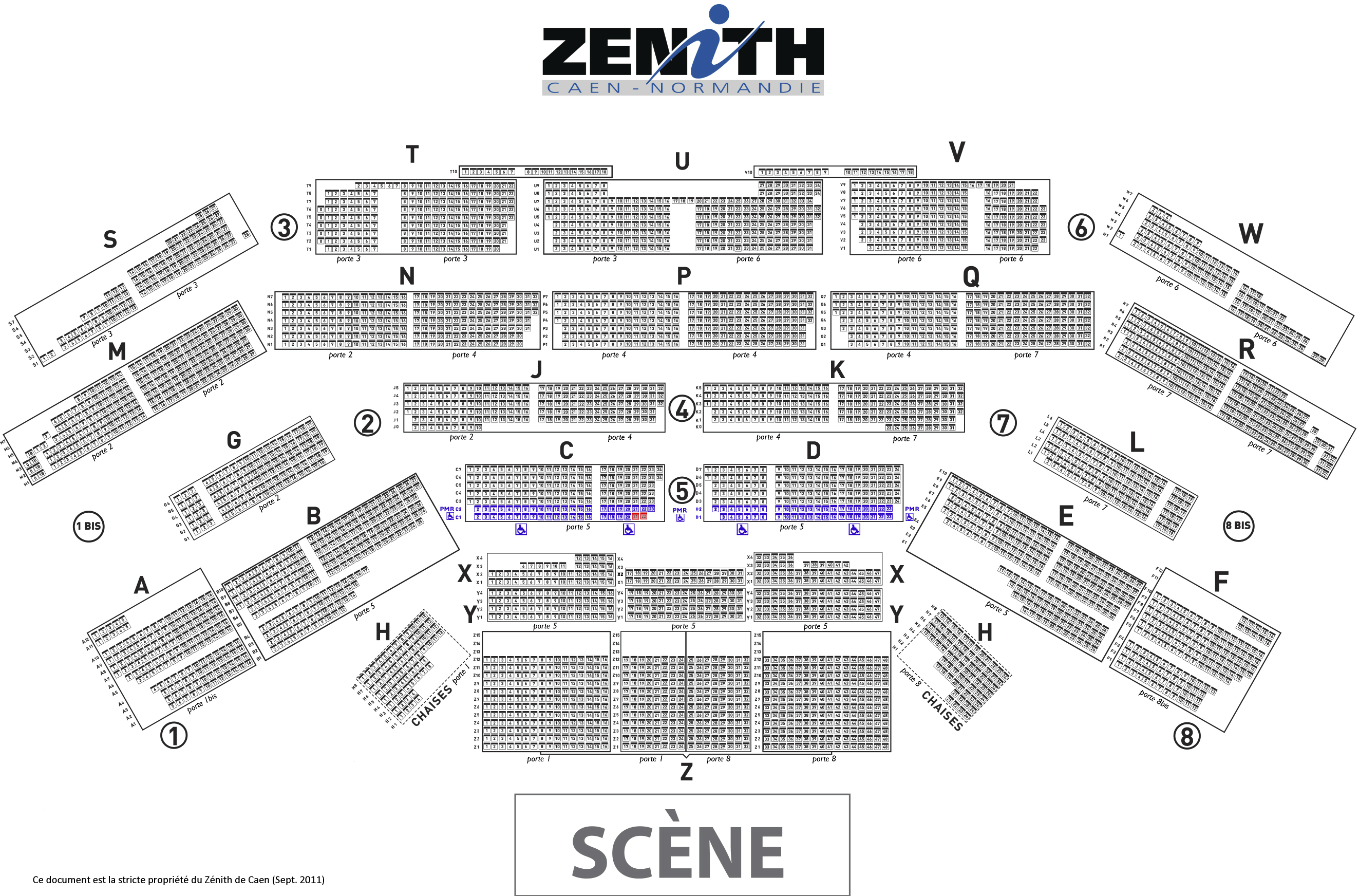 Place zenith toulouse for Porte zenith toulouse