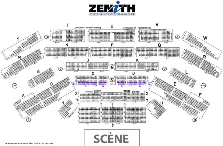 D co plan du zenith de paris 12 plan de travail ikea salle de bain plan comptable excel Plan salle zenith paris